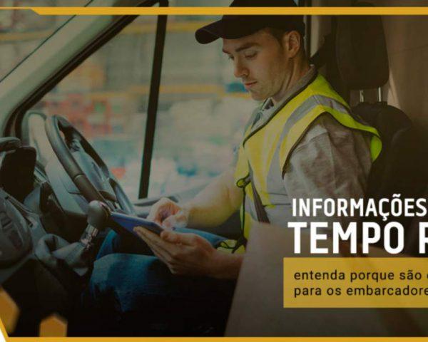 Por que informação de entrega em tempo real é essencial para embarcadores?