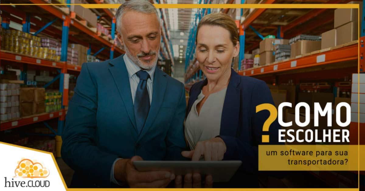 Como escolher um software para sua transportadora? | Hive.cloud