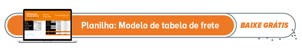 Download modelo da tabela de frete