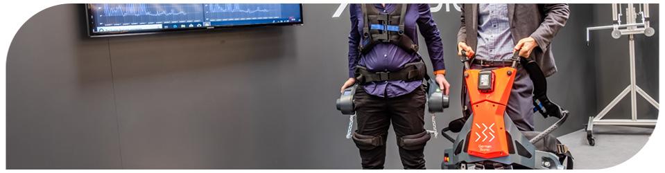 Exoesqueletos para carregamento pesado