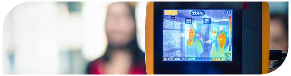 Câmeras de imagem térmica