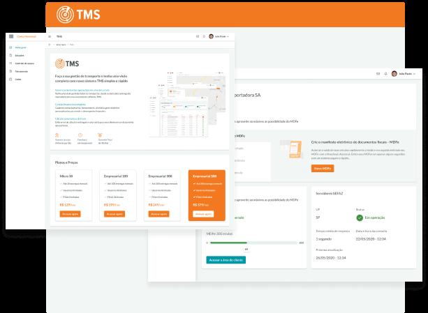 Software TMS<br /> para gestão de transportadoras